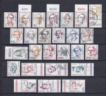 BRD -1986/2003 - Freimarken:Frauen Der Deutschen Geschichte - Sammlung - Gest. - Gebraucht