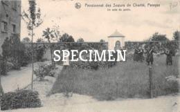 Pensionnat Des Soeurs De Charité - Un Coin Du Jardin  - Pervyse - Pervijze - Diksmuide