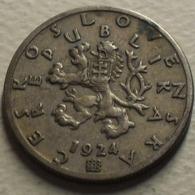 1924 - Tchécoslovaquie - Czechoslovakia - 50 HALERU - KM 2 - Czechoslovakia