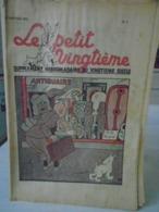 HERGE - TINTIN - Le Petit Vingtième - N° 3 -21 Janvier 1937 - Bon Etat - QQ Petits Défauts - Hergé