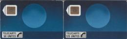 FRANCE - 50 Et 120 Unités - SOLEIL BLEU - Télécarte Utilisée - Frankrijk