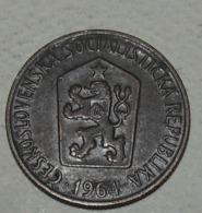 1964 - Tchécoslovaquie - Czechoslovakia - 50 HALERU - KM 55.1 - Czechoslovakia