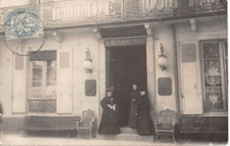 CPA 03 -  VICHY, Grand Hotel De Milan, Carte Photo, 1907 - Vichy