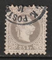 Autriche N° 37A, Impression Fine, TB - 1850-1918 Impero