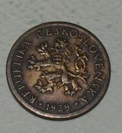 1929 - Tchécoslovaquie - Czechoslovakia - 10 HALERU - KM 3 - Czechoslovakia