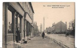 CPA  De  TERGNIER  (02)   -   Boulevard    Gambetta   En   1923    //     TBE - France