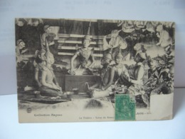 COLLECTION RAQUES LAOS  LE THEATRE  CPA 1908 - Laos