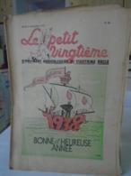 -HERGE - TINTIN - Le Petit Vingtième - N° 52 - 30 Décembre 1938 - Bon Etat - QQ Petits Défauts - Hergé