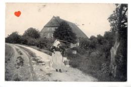 33225-ZE-METIER-Paysage--------------animée-femmes Portant Des Seaux - Farmers
