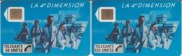 FRANCE - 50 Et 120 Unités - 4 Ième DIMENSION HOMME - Télécartes Utilisées - Frankrijk