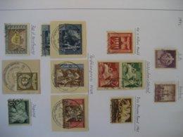 Deutschland/ Deutsches Reich- Marken Und Briefausschnitte Laut Foto - Germany