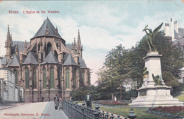 MONS. Eglise Ste-Waudru   (27) - Mons