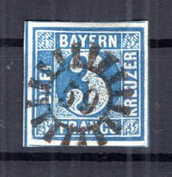 Bayern Nummernstpl GMr59 2 Tadellos Gest. (B4684 - Bavière