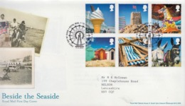 Great Britain Set On Used FDC - Holidays & Tourism