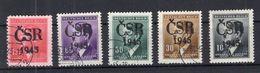 B�hmen NCHKRIEGS�BERDRUCK CSR 1945 Gest. (A6713 - Zonder Classificatie