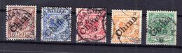 China 2-6I Tadellos Gest. 140EUR (B7731 - Deutsche Post In China