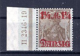 Danzig 27II HAN LUXUS * MH (B3688 - Danzig
