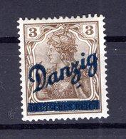Danzig 34 PF KLISCHEENAGEL * MH (B8274 - Danzig