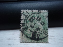 Timbre Blanc Oblitéré De 1902. 5 Centimes - 1900-29 Blanc