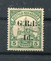 DNG BRITISCH 2II Tadellos * MH 18EUR (77287 - Colony: German New Guinea