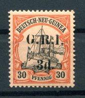 DNG BRITISCH 8II Tadellos * MH 100EUR (H0315 - Colonie: Nouvelle Guinée