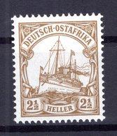 DOA 22 LUXUS ** POSTFRISCH 20EUR (77109 - Kolonie: Duits Oost-Afrika