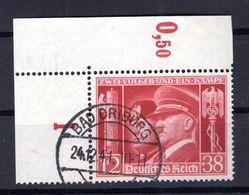 DR-3.Reich 763 ER BOGENECKE Gest. (B8148 - Gebruikt
