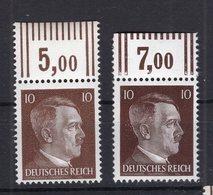 DR-3.Reich 826a+b OR OBERRAND**POSTFRISCH (76194 - Duitsland