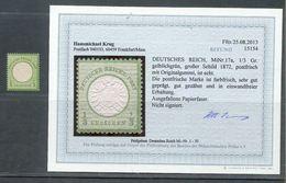 DR-Brustschild 17 LUXUS ** POSTFRISCH BPP Befund 180EUR (G2548 - Germany