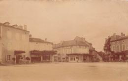 GRAMAT - Carte Photo - La Place - Pâtisserie - Gramat