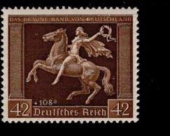 Deutsches Reich 671 Das Braune Band  MNH Postfrisch ** Neuf - Nuevos