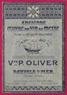 Livret Publicitaire De La Maison Veuve Oliver à Banyuls Sur Mer - Ancienne Oeuvre Du Vin De Messe - Année 1926 - Reclame