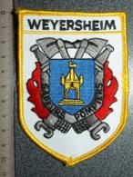 ECUSSON  TISSUS  SAPEURS POMPIERS WEYERSHEIM - Pompieri