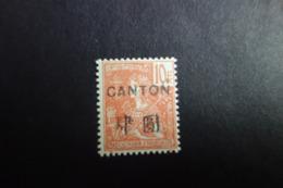 CANTON N°49 *MH Tb - Canton (1901-1922)