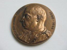 Médaille Antoine De St Exupery 1900-1944 - AC-VG Air France Et Aéronautique Graveur BELMONDO **** EN ACHAT IMMEDIAT **** - Professionnels / De Société