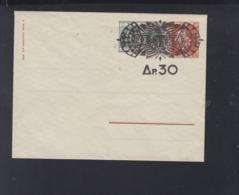 Greece Stationery Cover Overprint - Postal Stationery