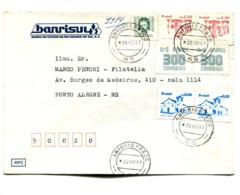 BRASIL COMMERCIAL COVER - CIRCULATED FROM ANTONIO PRADO TO PORTO ALEGRE. YEAR 1987 -LILHU - Brazilië