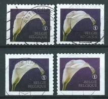 België OBP Nr: 4368 - 4368c Gestempeld / Oblitérés - Rouwzegels - Oblitérés