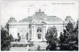 CHILI CHILE PALACIO BEL'AS ARTES SANTIAGO 1920 TBE - Chili
