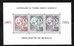 Monaco 1991 Yvert BF 53 Neuf** MNH (AA119) (2) - Blocs