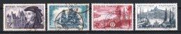 France 1955 : Timbres Yvert & Tellier N° 1034 - 1035 - 1036 - 1037 - 1038 - 1039 - 1040 - 1041 - 1042 - 1043 Et 1033 ... - Frankreich