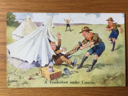 A Tenderfoot Under Canvas  Scouts In Action Series 6A   SCOUTISME - Scoutismo