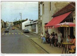 """Carte Postale  85.  Talmont-Saint-Hilaire  La Poste Et Le Café Du """" Rendez-Vous """" GS Citroën - Talmont Saint Hilaire"""