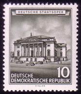 492 Historische Bauwerke 10 Pf Deutsche Staatsoper ** - [6] République Démocratique