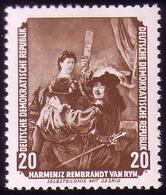 507 Gemälde 20 Pf Rembrandt ** - [6] Repubblica Democratica