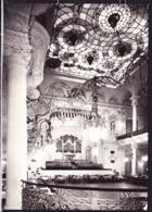Tschechoslowakei CSSR - Bildpostkarte (s/w) Karlovy Vary (Karlsbad) Saal Im Grandhotel Moskva-Pupp - Czech Republic