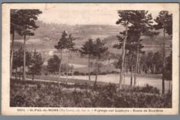 CPA 43 - Saint Pal De Mons - Paysage Sur Lapouya - Route De Dunières - Non Classés