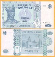 2009 Moldova ; Moldavie ; Moldau    5 LEI   232769 - Moldavië