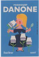CPM - Lot De 3 Cartes Postales - Danone - 100 Ans - Reproduction D'affiche - Werbepostkarten