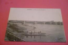 -C P A ----45----ORLEANS----le Quai Et Le Pont Nicolas . - Orleans